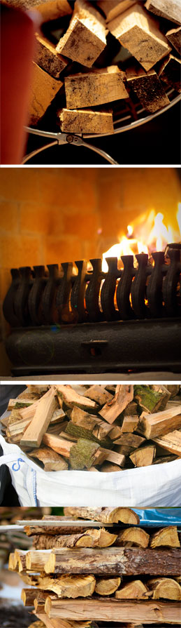 Firewood and wood burning stove fuel in Belfast, Dundonald (Co. Down)